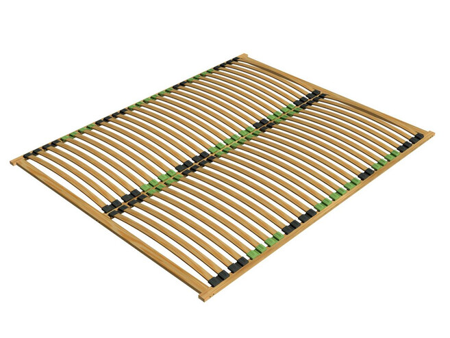 orthopedic slatted frame Ergo Plus 160x200cm from birch