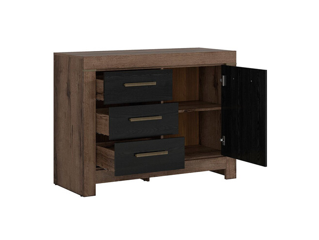 Dresser in the decor monastery oak/ black oak