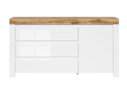 HOLSTEN chest of drawers with 3 drawers and 1 door in...