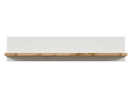 HOLSTEN Wall shelf in white / oak