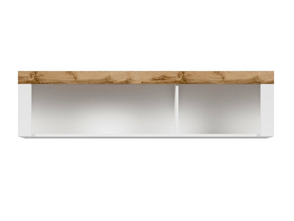 HOLSTEN hanging shelf 156cm in white / oak