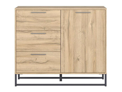 GAMMA LOFT chest of drawers in oak decor