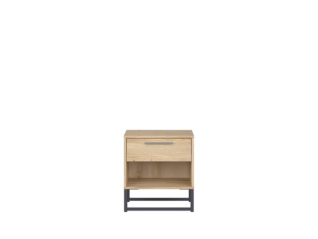 GAMMA LOFT bedside table in oak decor