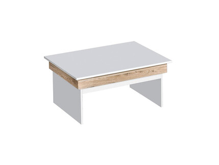 RIVA coffee table in white / oak