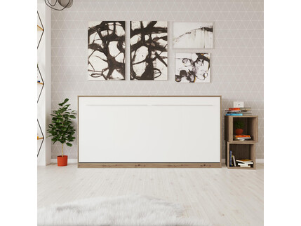 SMARTBett Folding wall bed Standard 90x200 Horizontal...