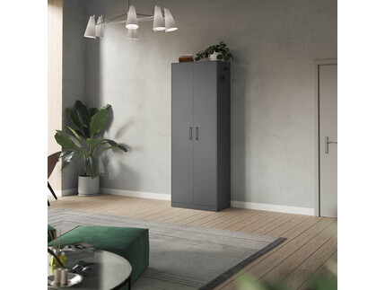 SMARTBett cabinet 80cm 2 doors in anthracite