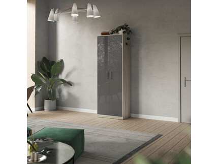 SMARTBett cabinet 80cm 2 doors in Oak Sonoma/ anthracite...