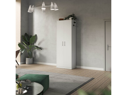 SMARTBett cabinet 80cm 2 doors in white