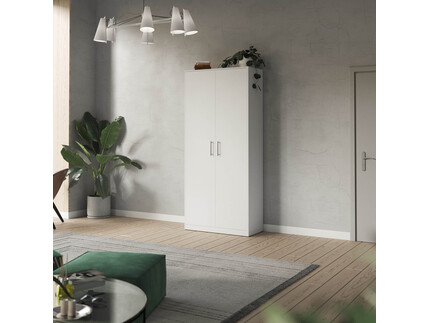 SMARTBett cabinet 100cm 2 doors in white