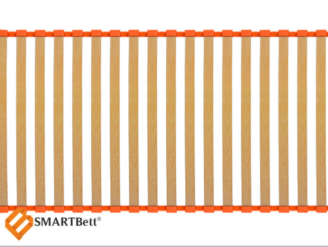 Slatted bed base  ORRB standard system 60x200 53mm Beech