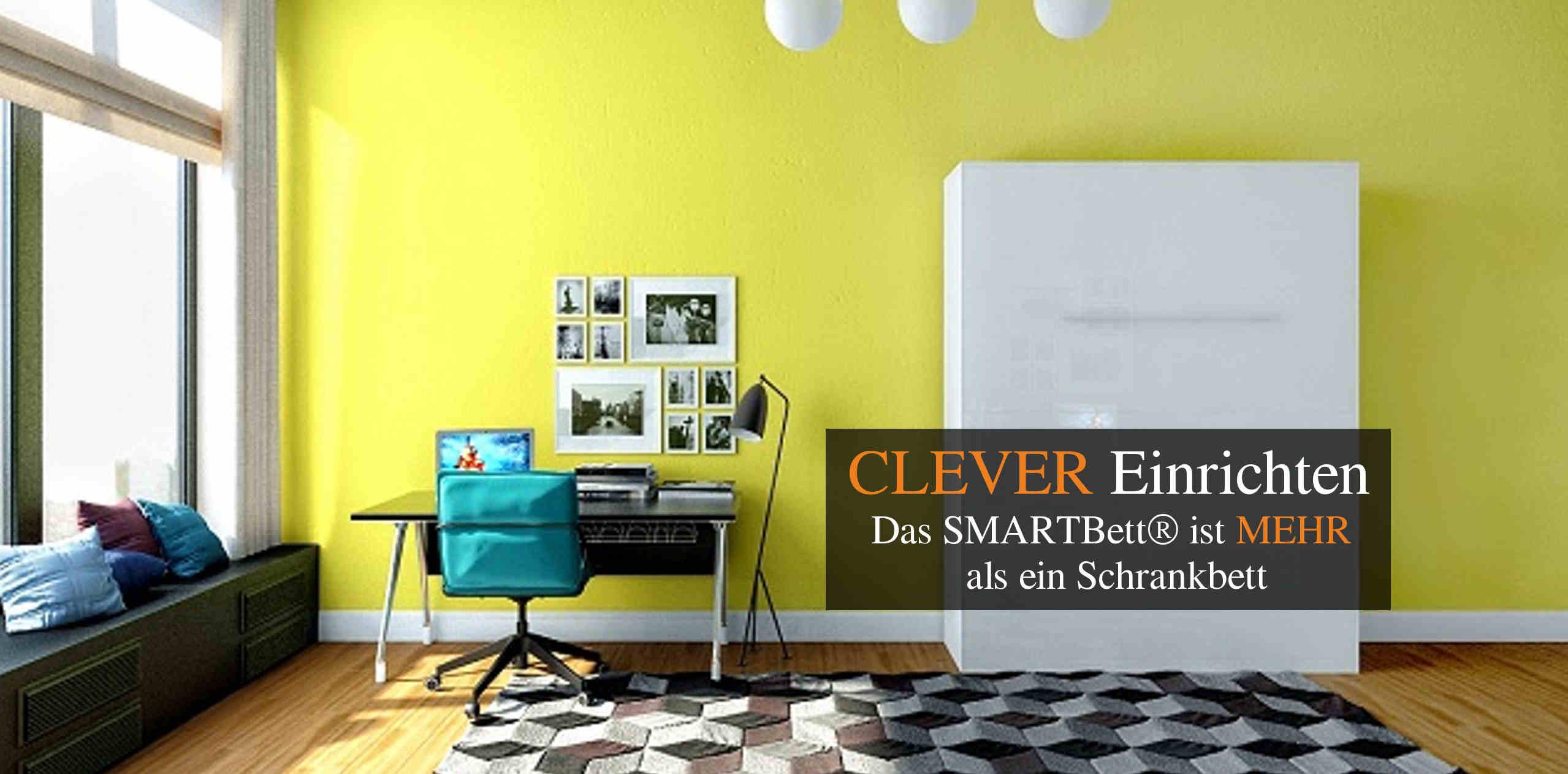 kuchenschranke clever einrichten : Schrankbett Smartbett Klappbett Clever einrichten - Das Smartbett ist ...